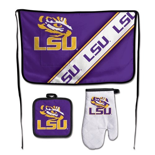WinCraft NCAA Louisiana State University Barbeque Tailgate Set-Premium