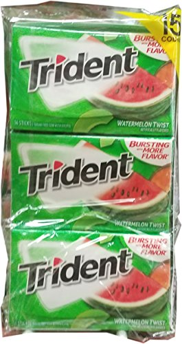 (Trident Watermelon TW Bubble Gum, 1 Pound)