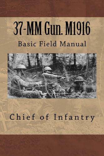 37-MM Gun. M1916: Basic Field Manual
