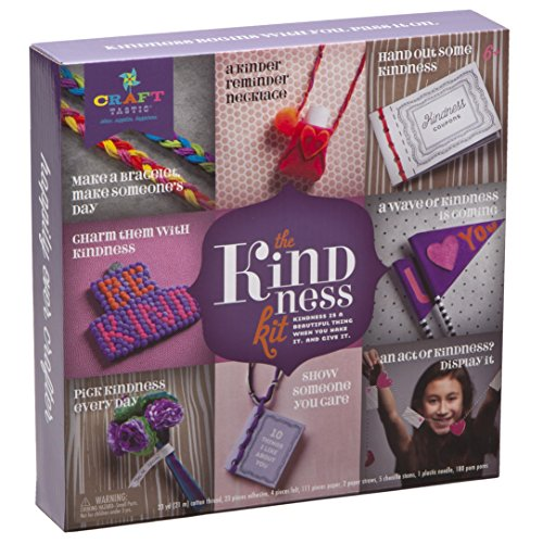 Craft-tastic – Kindness Kit – Craft Kit Includes 8 Projects to Inspire Kindness