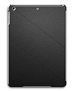 iPad Air Cases & Covers - Black Leather PC Custom Soft Case Cover Protector for iPad Air