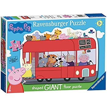 Amazon.com: Ravensburger My First Puzzle para piso Peppa Pig ...