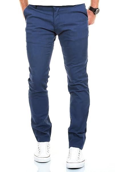 Pantalones Chino Hombre Slim Fit SC4x4X7I