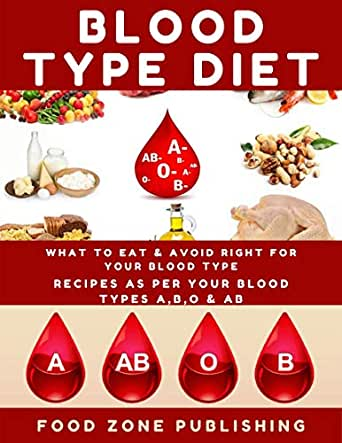 BLOOD TYPE DIET : What to Eat & Avoid Right for Your Blood Type: Recipes as Per Your Blood Types A,B,O & AB (English Edition) eBook: Zone Publishing, Food : Amazon.es: Tienda