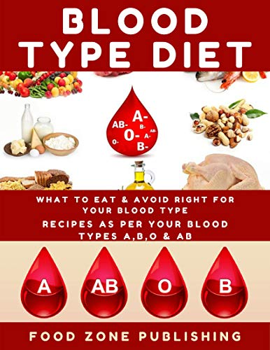 BLOOD TYPE DIET : What to Eat & Avoid Right for Your Blood Type: Recipes as Per Your Blood Types A,B,O & AB by [Zone Publishing, Food ]