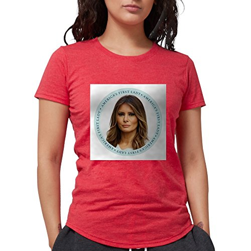 CafePress Melania, Trump,First Lady T-Shirt - Womens Tri-Blend T-Shirt