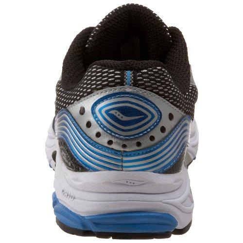 Saucony hombres Grid Fusion 3 Running zapatos,plata/Royal/negro,10 M US