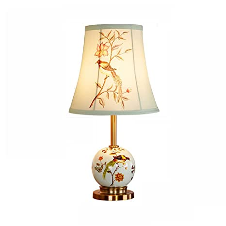 Lámpara de mesa FJH Minimalista Moderno Pintado de Cerámica ...