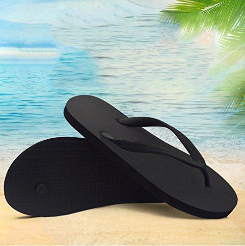 Pictures of Feisco Women Rubber Flip Flops Thong Sandal 5
