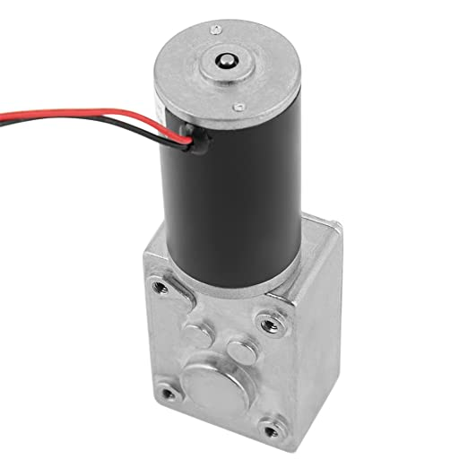 5840-3650 DC24V Brushless Turbo Worm High Torque Reduction Gear Motor 40RPM
