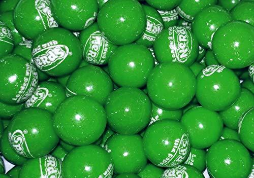 Green Wonka Nerds Filled Gumballs - 1 Pound Bulk Pack