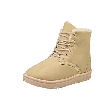 Bottines Fille De Femmes Chaussures Landove Bottes Neige Fourrées yN8vn0wOm