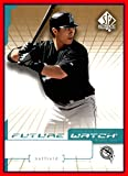2004 SP Authentic #94 Chris Aguila FUTURE WATCH FLORIDA MARLINS SERIAL #52/99