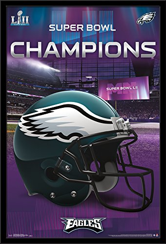 Trends International Wall Poster Super Bowl LII-Team Logo, 24.25