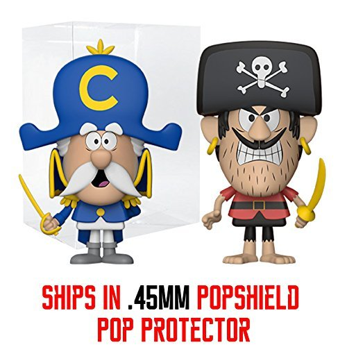 The Ad Shop - Funko VYNL Ad Icons - Cap'n Crunch and Jean LaFoote -Funko Shop Exclusive 2 Pack - .45mm Popsheild Protector Included