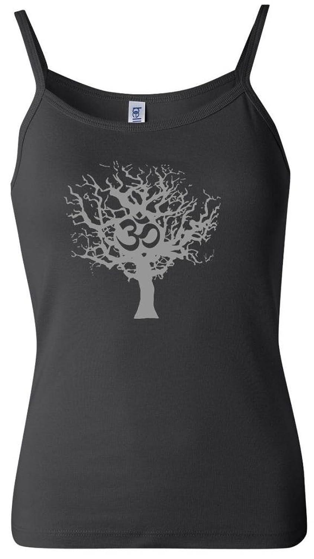 Yoga Clothing For You Ladies Tree of Life Spaghetti Strap Tank Top
