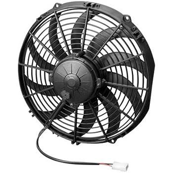 "Spal 30102044 13/"" Curved Blade Puller Fan"