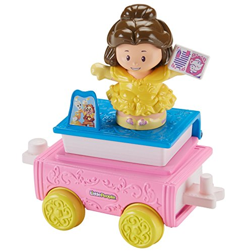 (Fisher-Price Little People Disney Princess Parade Belle & Chip's)