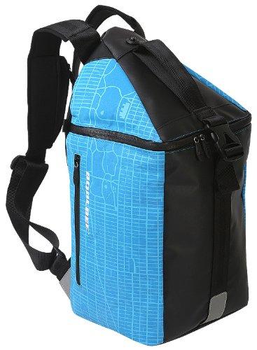 BOBLBEE 424253. 14Rucksack schwarz, blau Tasche für Notebook