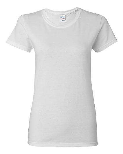 Gildan 5000L - Missy Fit Ladies T-Shirt Heavy Cotton - First Quality ... 33d80e297