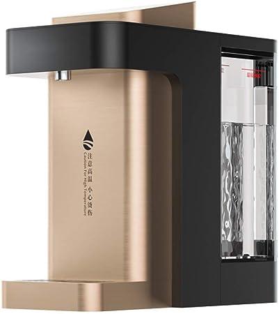 CHHD Dispensador instantáneo de Agua Caliente, Caldera de Agua Caliente 2.6L Dispensador de Agua Listo para Beber 3s Control de Temperatura del Agua de 6 velocidades 3 configuraciones de Salida de AG: