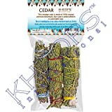 Smudge Sticks Mini Cedar Bundle (pack of 3)