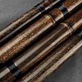 Separable Brown Vertical Bamboo Flute Key G