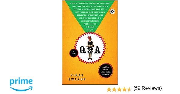 Amazon q a a novel 9780743267489 vikas swarup books fandeluxe Choice Image