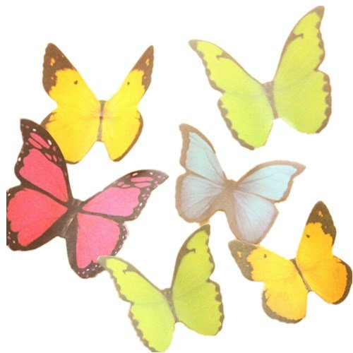 UPC 601913584665, KitMax (TM) Pack of 6 Sets Cute Butterfly Shaped Sticky Notes Gift for Students Children, Color May Vary