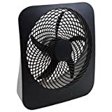 O2COOL 10-Inch Portable Desktop Air Circulation Battery Fan - 2 Cooling Speeds AC Adapter