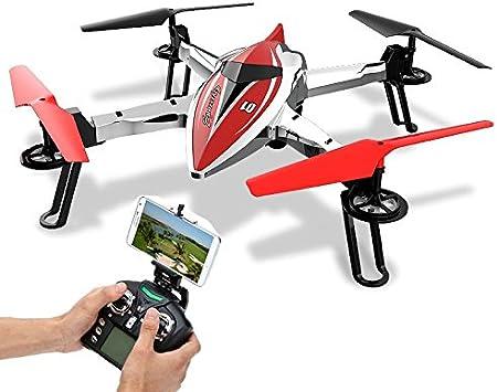 Drone Wltoys Q212K FPV a Smartphone y Control de Altura: Amazon.es: Juguetes y juegos
