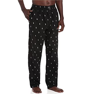 Polo Ralph Lauren Men's Pyjama Bottoms - Black - Trousers