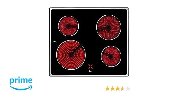 Teka VTC B Negro Integrado Cerámico - Placa (Negro, Integrado, Cerámico, 6300 W, 230 V, 50-60 Hz)
