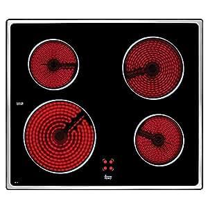 Teka VTC B Integrado Ceramic hob Negro - Placa (Integrado, Ceramic hob, Negro, 0,9 m, 6300 W, 230 V)