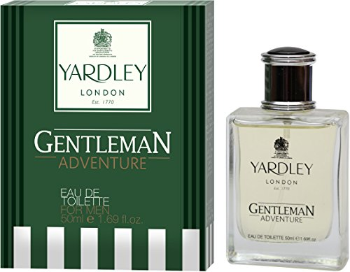 Yardley London Adventure Perfume for Men (Eau de Toilette – EDT), 50ml