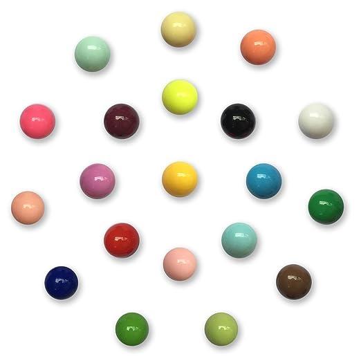 Muovst Imanes para nevera esféricos multicolor imanes de oficina ...