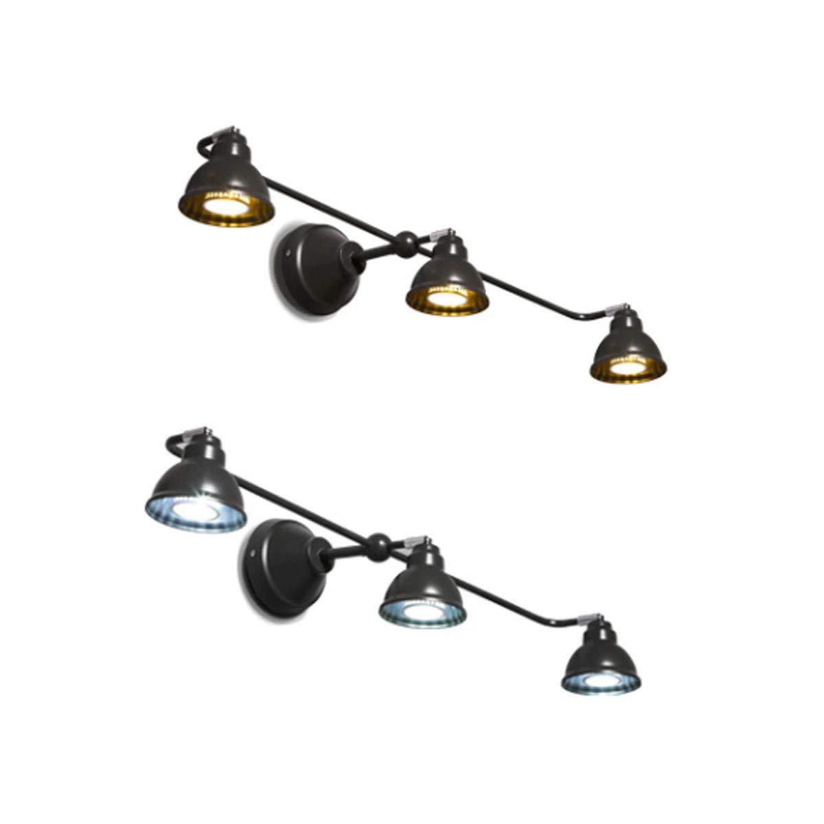 ウォールランプ、ミラーフロントバスルームウォールランプ、ノルディックLEDウォールランプ(30.4 * 14 * 8インチ) (Color : White light)  White light B07R4X5G98