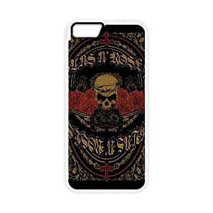 Guns n Roses iPhone 6 Plus 5.5 Inch Cell Phone Case White phone component RT_249278