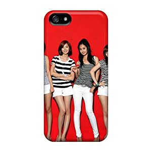 Fashion Protective Four Girls Generation Case Cover For Iphone 5C