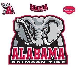Fathead alabama crimson tide logo wall decal for Alabama football wall mural