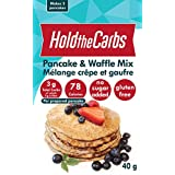 Low Carb Pancake and Waffle Mix, Gluten Free, Vegan, No Added Sugar, No Preservatives, Made in Canada - Makes 3 Pancakes