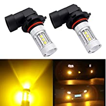 DunGu 9005 9006 LED Fog Light Bulb DRLs Replacement Error Free Projector Pack of 2