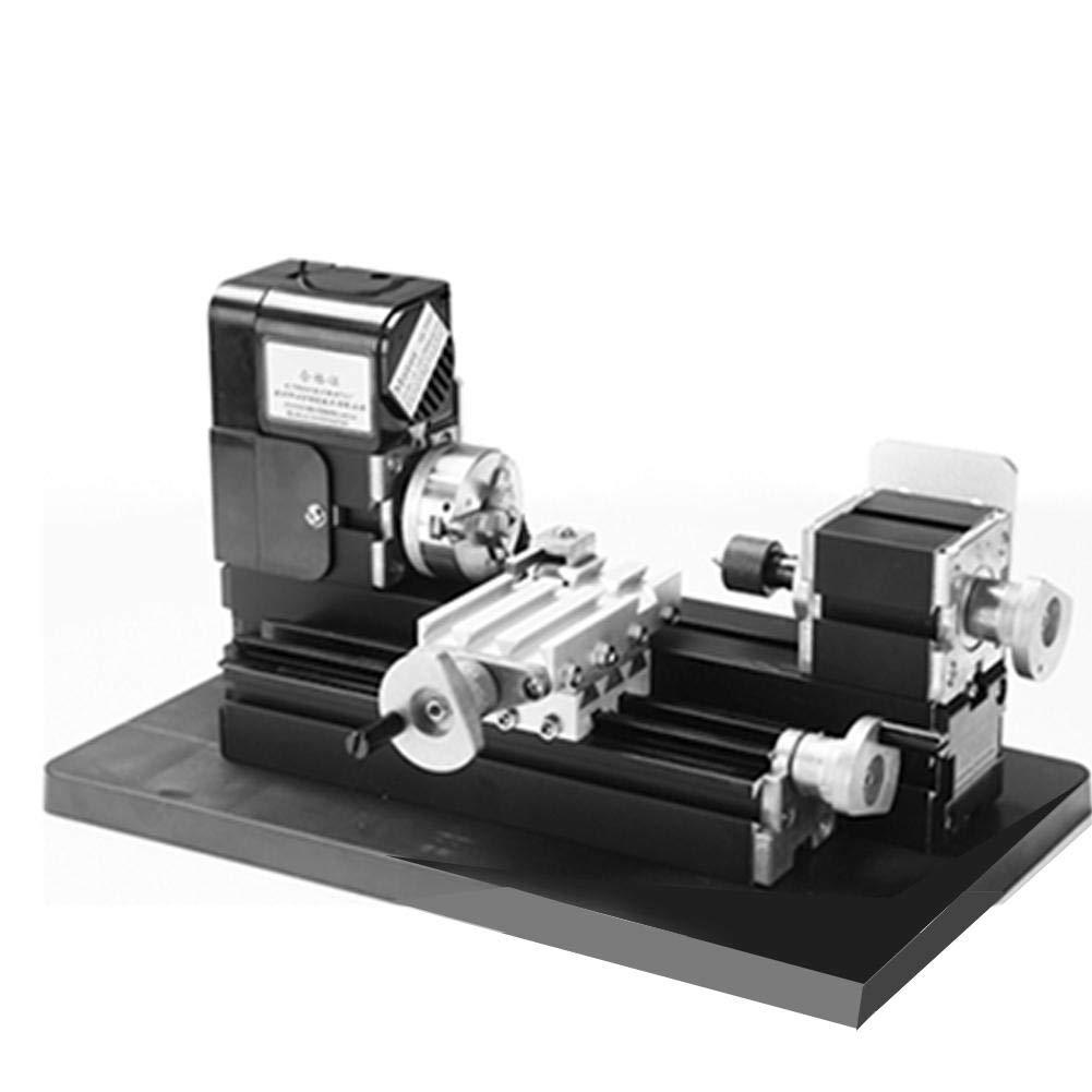 Amazon com: 8 in 1 Mini Metal Lathe Machine, Z8000M 24W