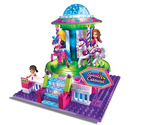 Cra Z Art Lite Brix Carousel Playset