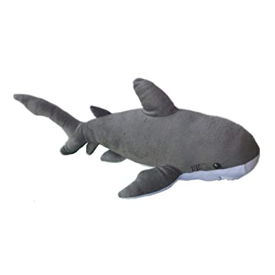 "Adore 19"" Bruce The Bull Shark Plush Stuffed Animal Toy: Toys & Games"
