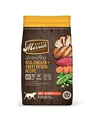 Merrick Grain Free Real Chicken & Sweet Potato Dry Dog Food, ...