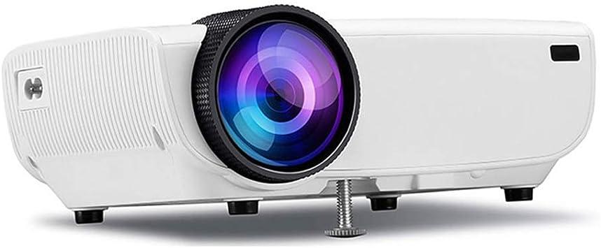 Mini Proyector 3D Small Wall Pantalla de proyección 1080P HD Ultra Calidad de Imagen Proyector portátil Equipado con Wireless Misma Pantalla Inteligente WiFi de Cine en casa (Color: Oro) LMMS: Amazon.es: Electrónica