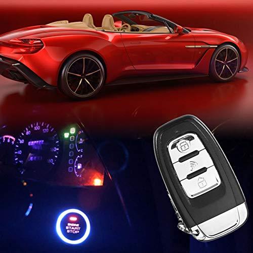 LasVogos Car Smart Key Push Start Stop System with RFID Car Engine Finger Push Starter by LasVogos (Image #7)