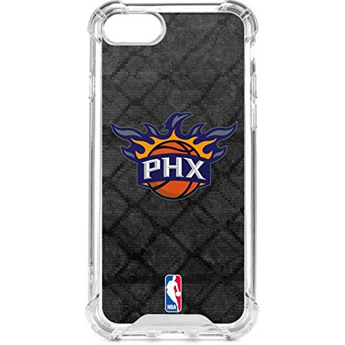 (Skinit Phoenix Suns Dark Rust iPhone 8 Clear Case - Officially Licensed NBA Phone Case Clear - Transparent iPhone 8 Cover)