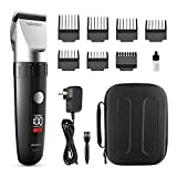 Best Cordless Hair Trimmers - WONER HC826B Waterproof Cordless Hair Clippers for Men Review